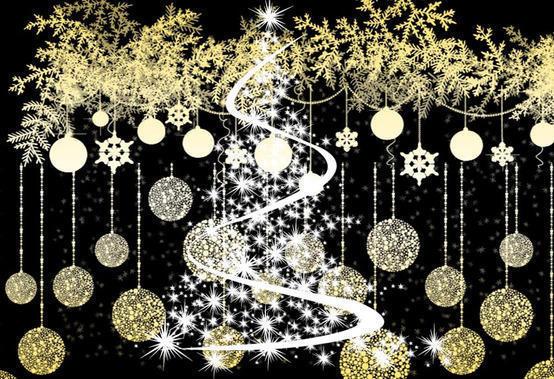 Christmas elements Photoshop brush