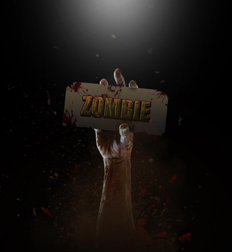 Zombie Layer Style Photoshop brush