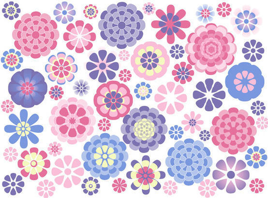 9 flower brushes by amd Photoshop brush