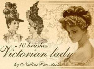 Victorian Ladies Photoshop brush
