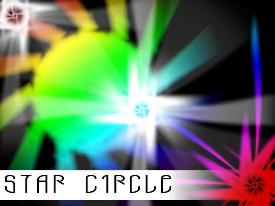 Stars Circle Brushes Photoshop brush