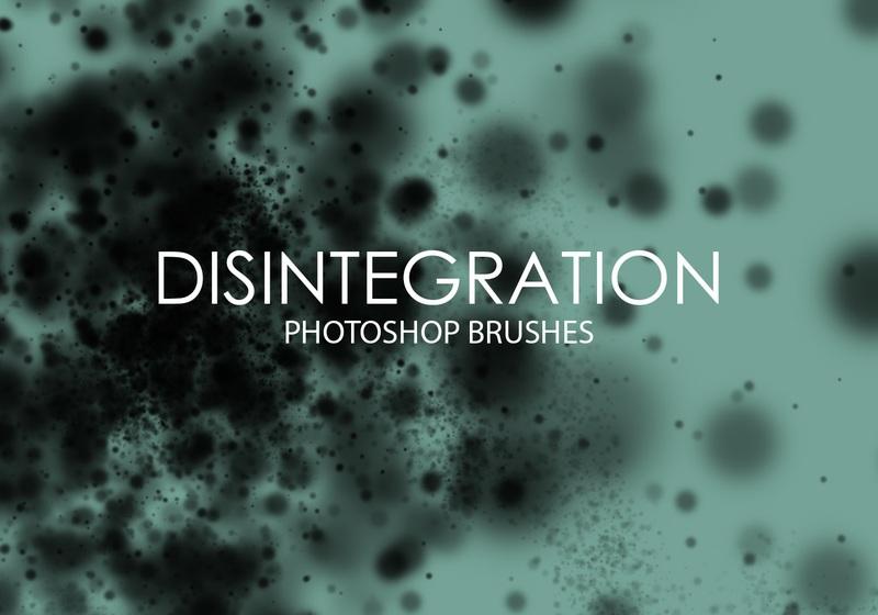 Free Disintegration Photoshop Brushes Photoshop brush