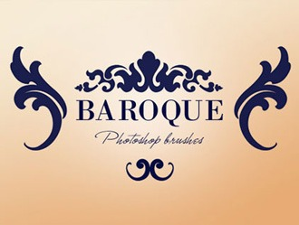Baroque Ornaments Photoshop brush