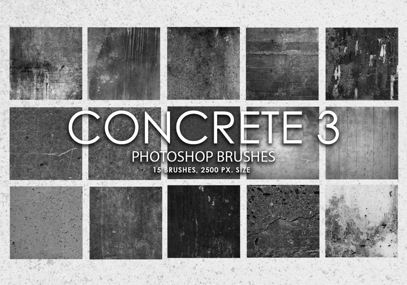 Free Concrete Photoshop Brushes 3 Photoshop brush