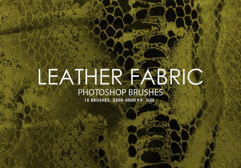Free Leather Fabric Photoshop Brushes Photoshop brush