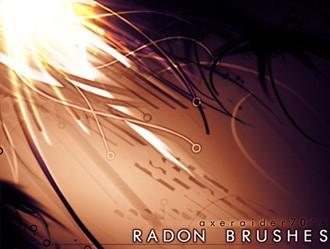 Radon Brushes Photoshop brush
