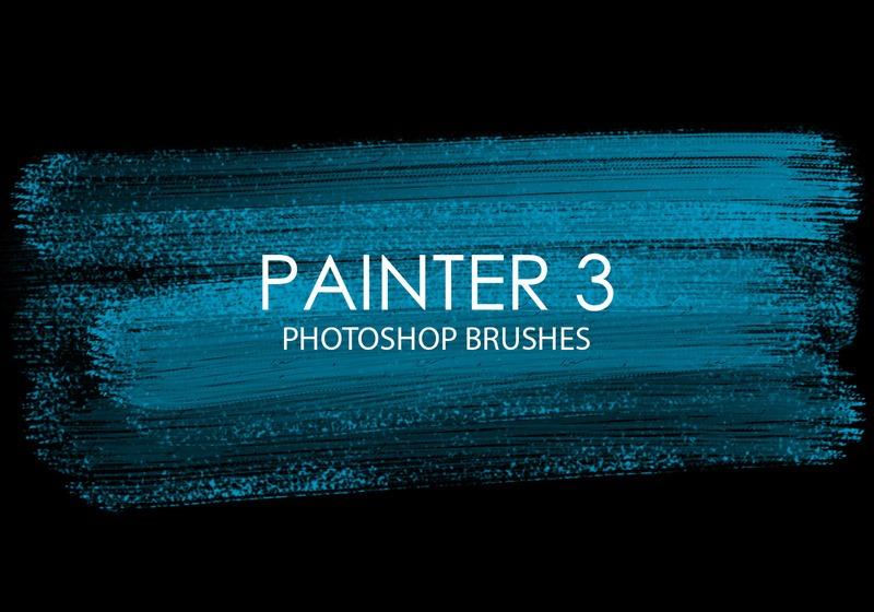 Free Painter Photoshop Brushes 3 Photoshop brush
