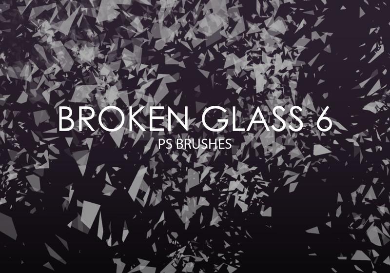 Free Broken Glass Photoshop Brushes 6 Photoshop brush