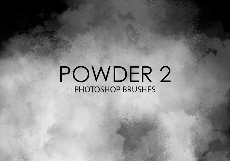 Free Powder Photoshop Brushes 2 Photoshop brush