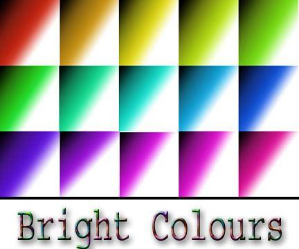Bright Colours Photoshop brush