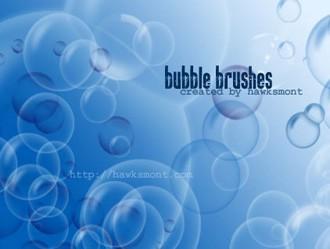 Bubble Brushes Photoshop brush