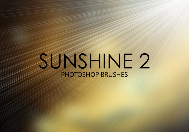 Free Sunshine Photoshop Brushes 2 Photoshop brush