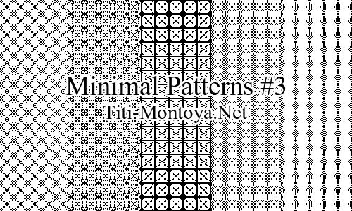 Minimal Patterns #3 Photoshop brush