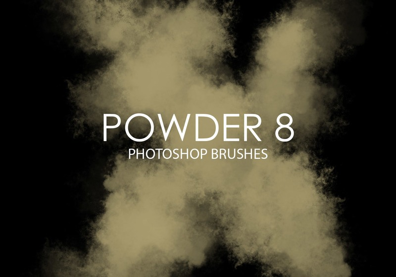 Free Powder Photoshop Brushes 8 Photoshop brush