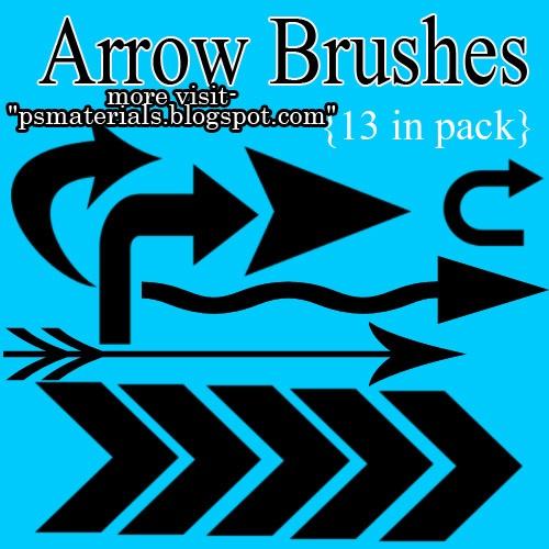 Arrow Brushes Photoshop brush