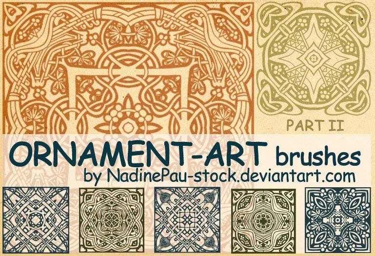 Ornament Art part II Photoshop brush