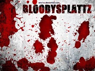 Bloody Splattz Photoshop brush