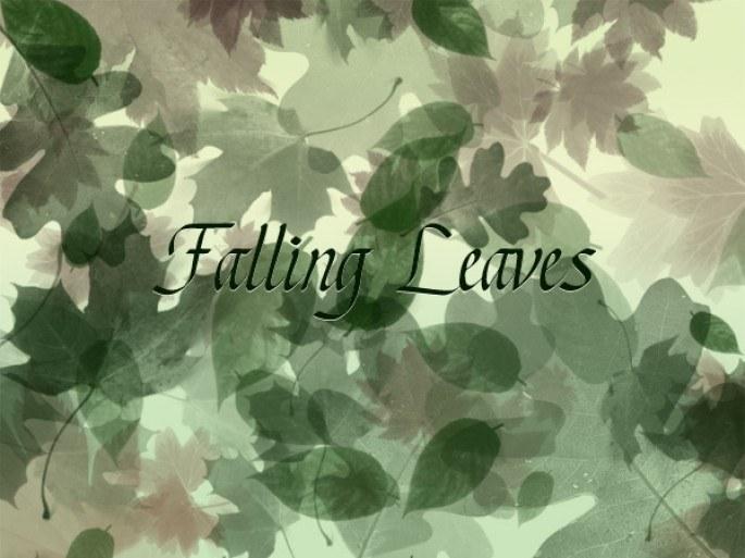 Falling Leaves Photoshop brush