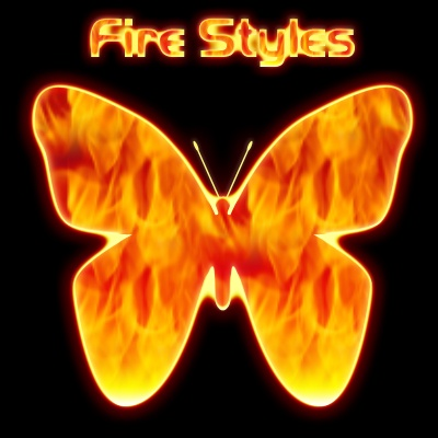 Fire Styles Photoshop brush