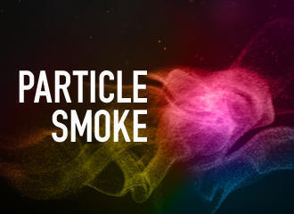Abstract Particle Smoke Photoshop brush