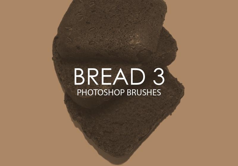 Free Bread Photoshop Brushes 3 Photoshop brush