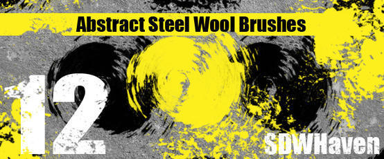 Abstract Steel Wool Brushes Photoshop brush