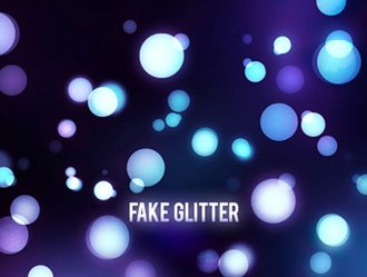 Fake Glitter Photoshop brush