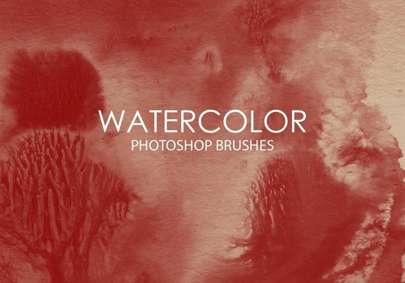 Free Watercolor Wash Photoshop Brushes 8 Photoshop brush