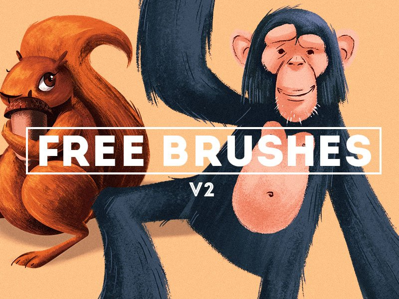 Free Stroke Brushes Photoshop brush