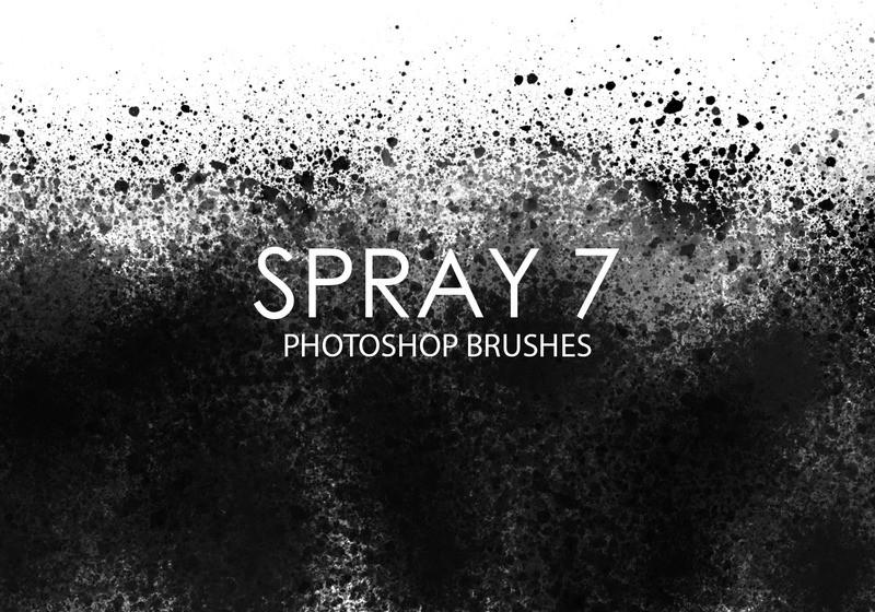 Free Spray Photoshop Brushes 7 Photoshop brush
