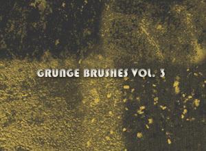 Grunge Brushes Vol. 3 Photoshop brush