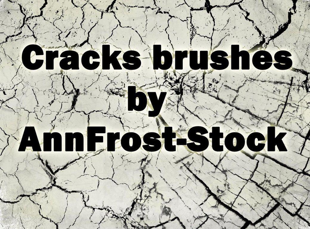 Cracks brush Photoshop brush