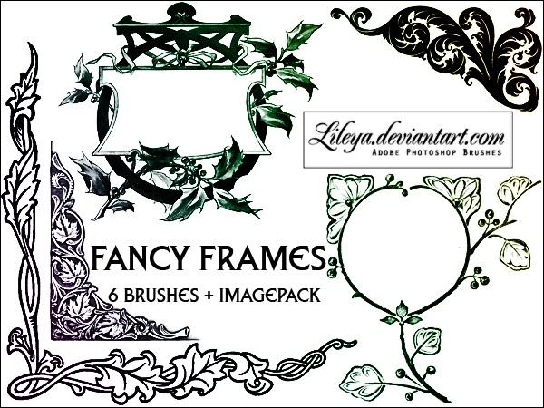Fancy Frames Photoshop brush