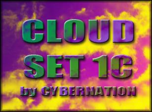 Cloud Set 1C Brushes Photoshop brush