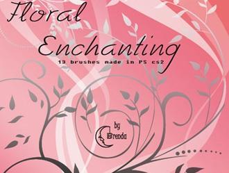 Floral Enchantig Photoshop brush