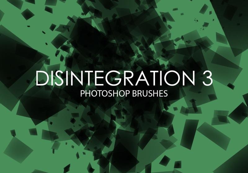 Free Disintegration Photoshop Brushes 3 Photoshop brush