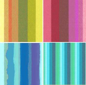 Torn Paper Stripe Photoshop brush