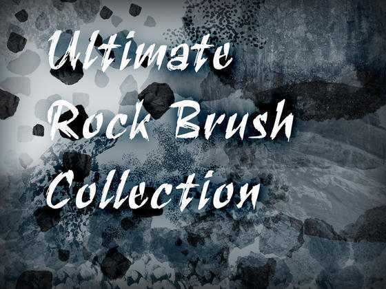 Ultimate Rock Brush Collection Photoshop brush