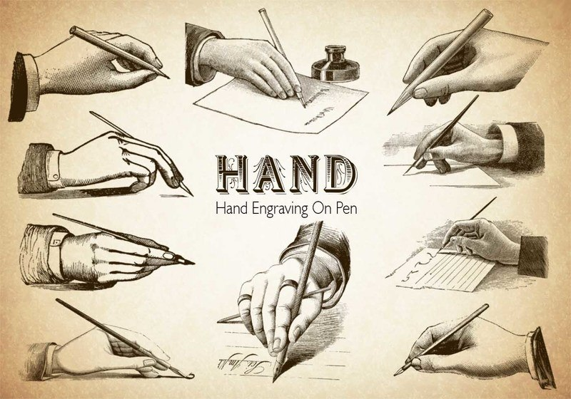 20 Hand PS Brushes abr.Vol.6 Photoshop brush