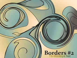 Borders #2 Photoshop brush