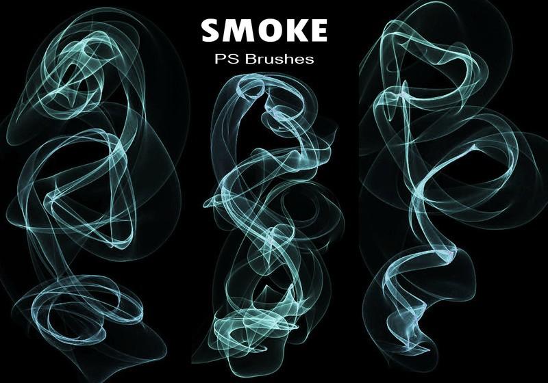 20 Smoke PS Brushes abr. Vol.13 Photoshop brush