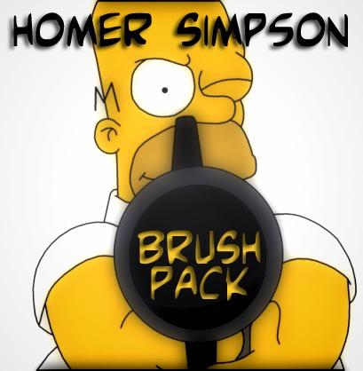 Homer Simpson Photoshop brush