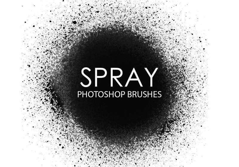 Free Spray Photoshop Brushes Photoshop brush