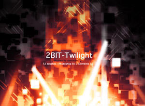 2Bit Twilight Photoshop brush