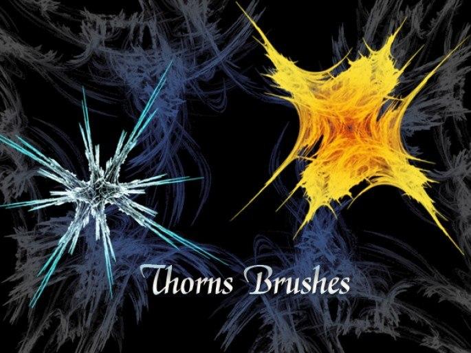 Thorns Brushes Photoshop brush