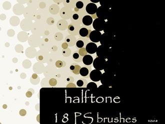 Halftone Brushes Photoshop brush