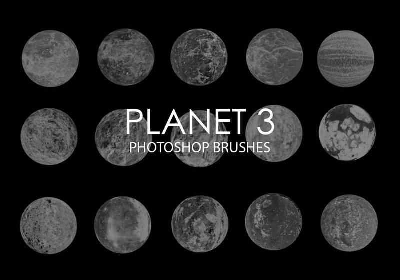Free Abstract Planet Photoshop Brushes 3 Photoshop brush