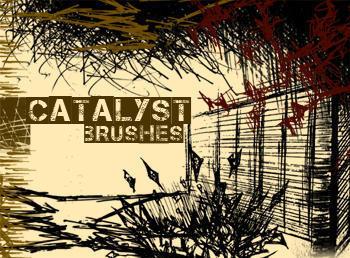 Grunge Brush Set Catalyst Scrag Photoshop brush