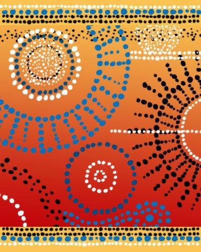 Aboriginal Art Dots Photoshop brush