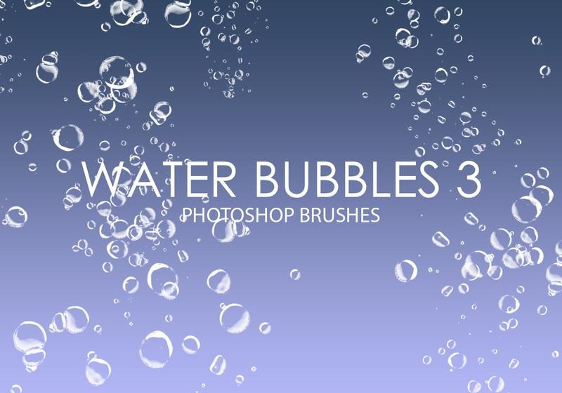 Free Water Bubbles Photoshop Brushes 3 Photoshop brush
